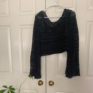 Free people knitted crop